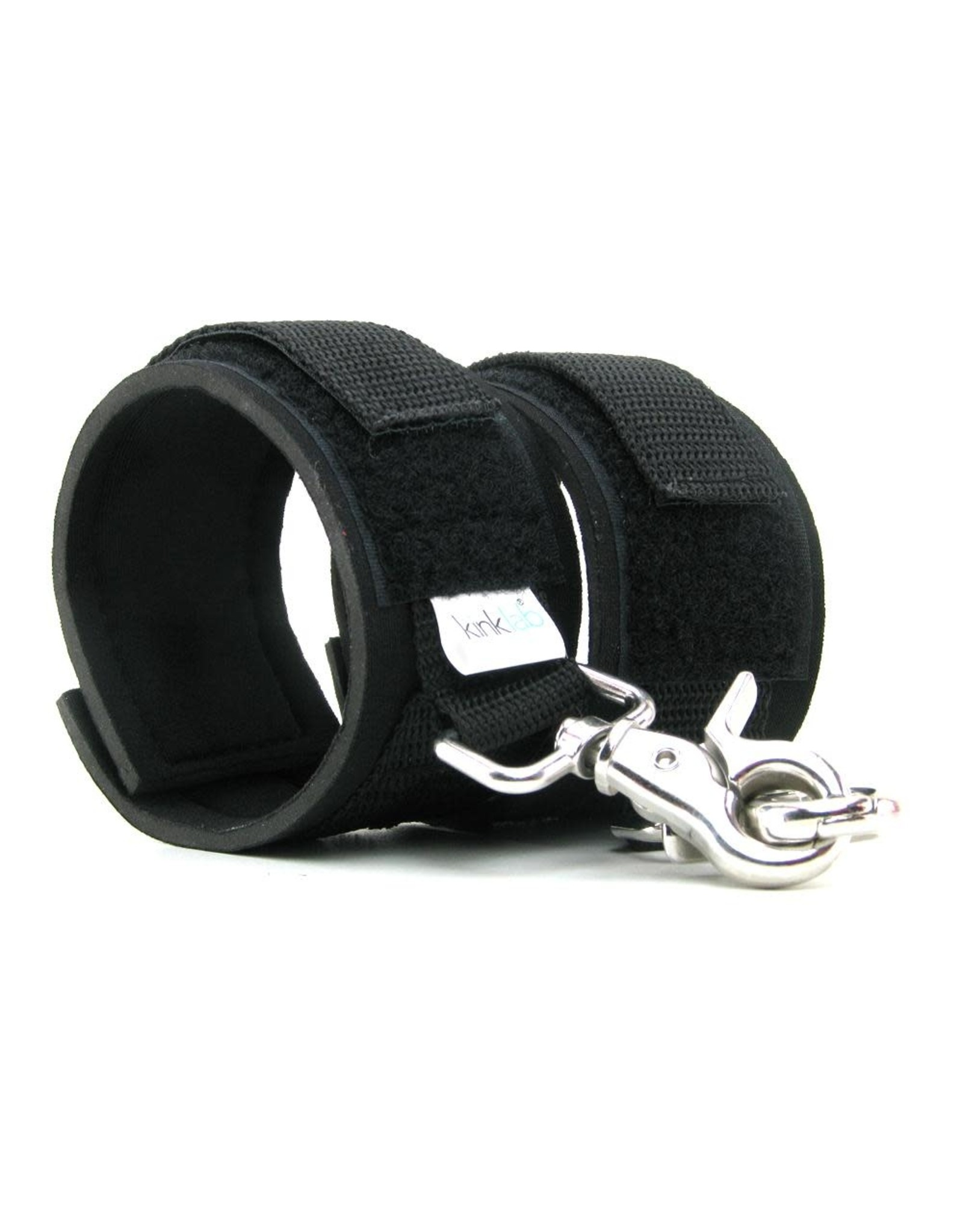 KINKLAB - NEOPRENE CUFFS - BLACK