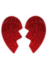 BROKEN HEART NIPPLE PASTIES