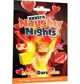 NAUGHTY NIGHTS XXXTRA EROTIC DARE DICE