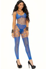 ELEGANT MOMENTS ELEGANT MOMENTS - COOL, CALM AND COLLECTED BODYSTOCKING - BLUE - ONE SIZE