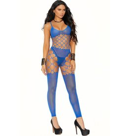 ELEGANT MOMENTS - COOL, CALM AND COLLECTED BODYSTOCKING - BLUE - ONE SIZE