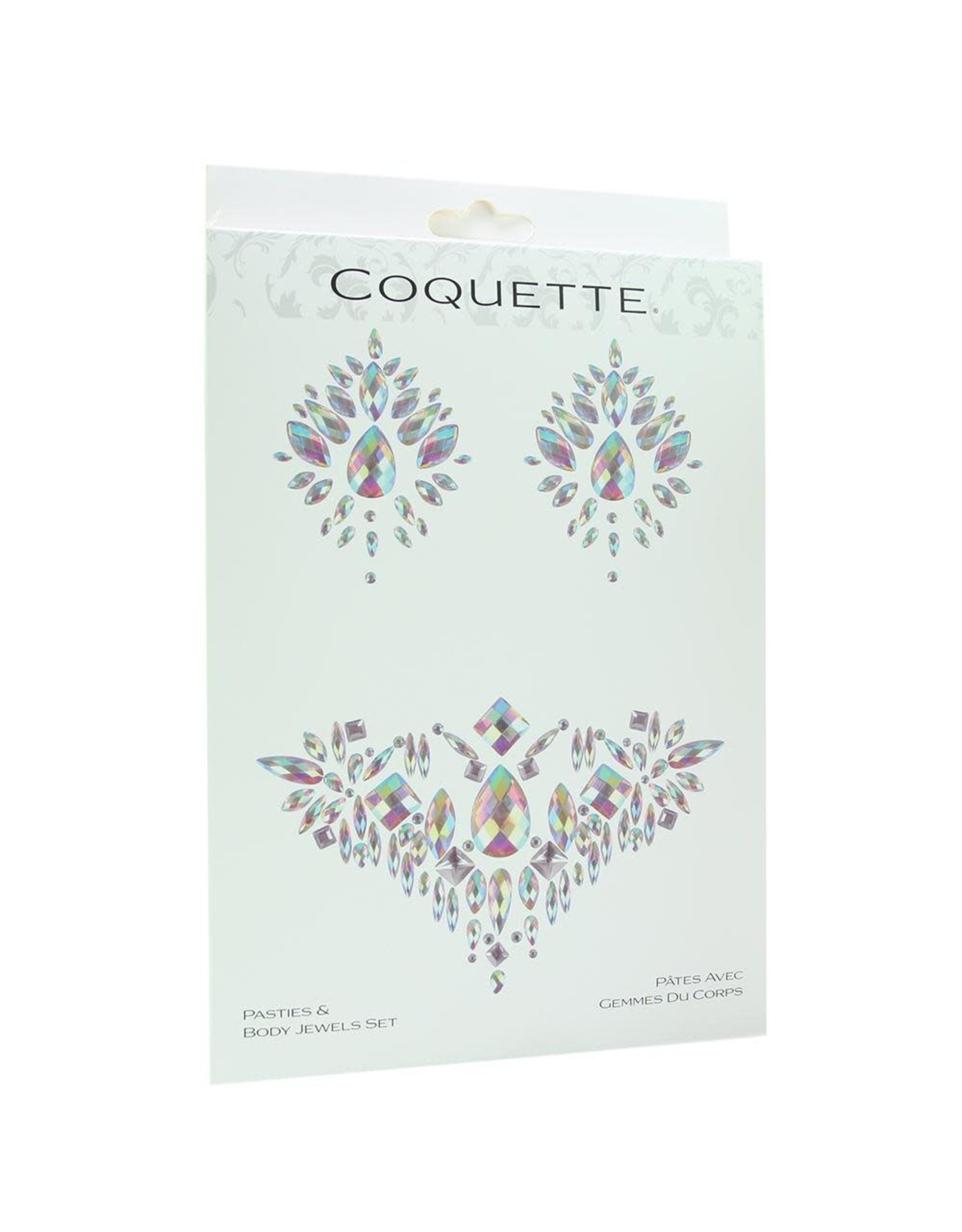 COQUETTE - PASTIES & BODY JEWEL SET