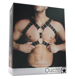 OUCH! - ANDREAS MENS CHEST HARNESS