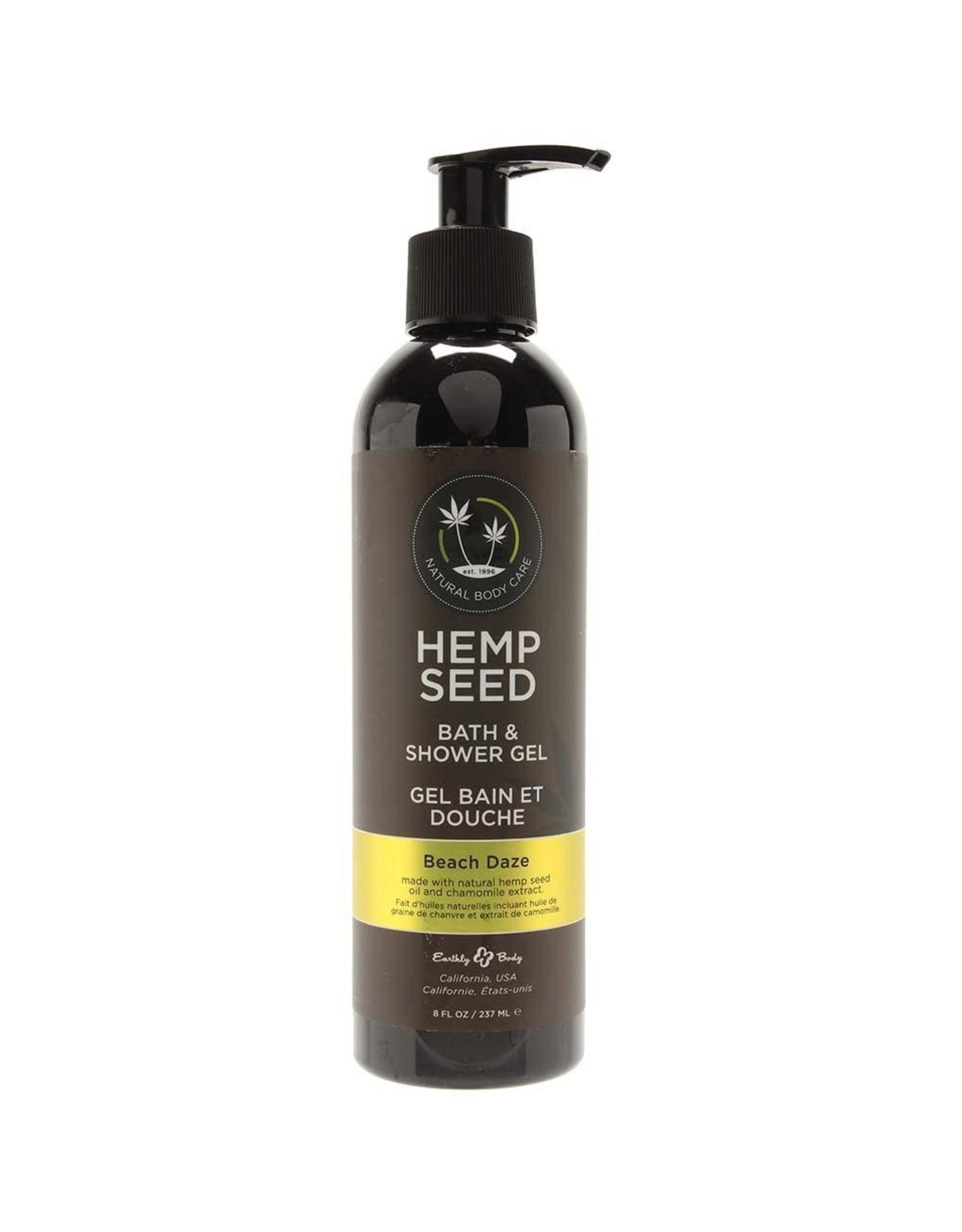 HEMP SEED - BATH AND SHOWER GEL - BEACH DAZE 8oz