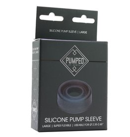 PUMPED - SILICONE PUMP SLEEVE - LARGE
