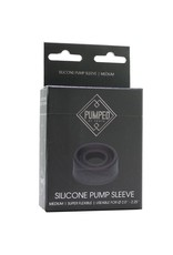 PUMPED - SILICONE PUMP SLEEVE - MEDIUM
