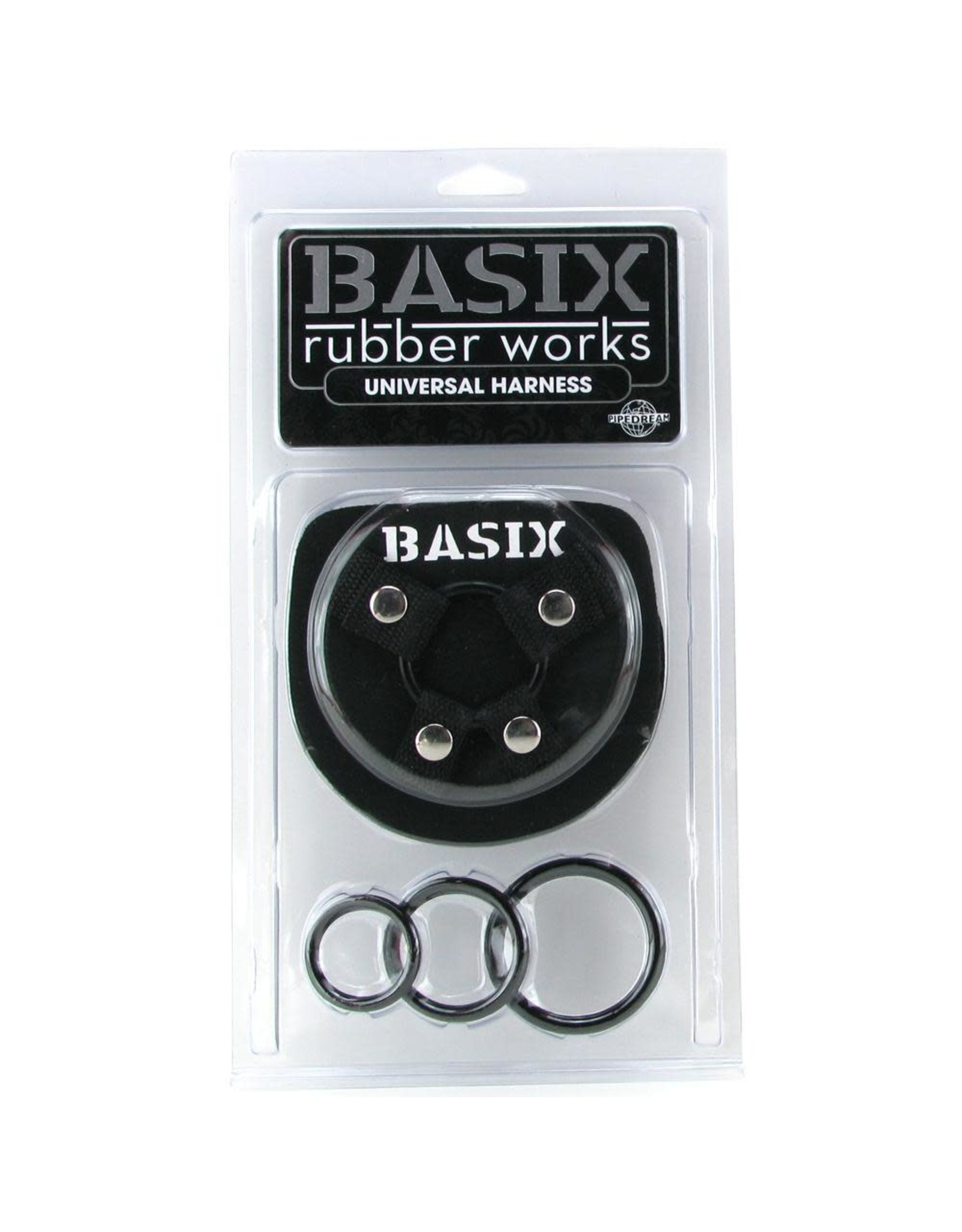 BASIX - UNIVERSAL HARNESS - BLACK