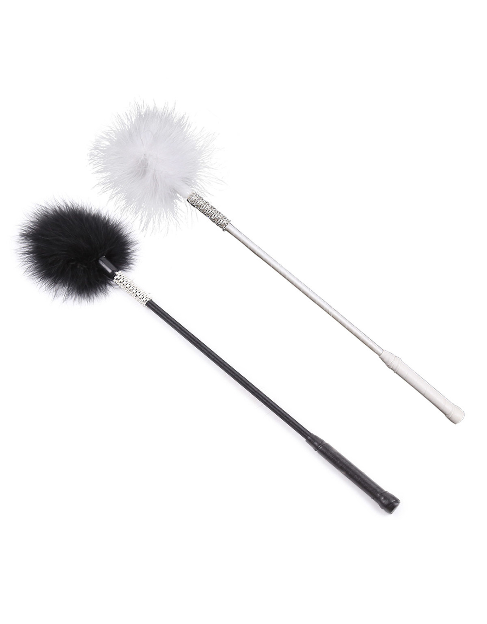 FLIRTING FEATHER WAND WHITE