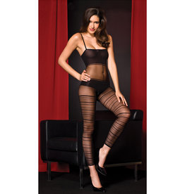 OPAQUE AND MESH BODYSTOCKING