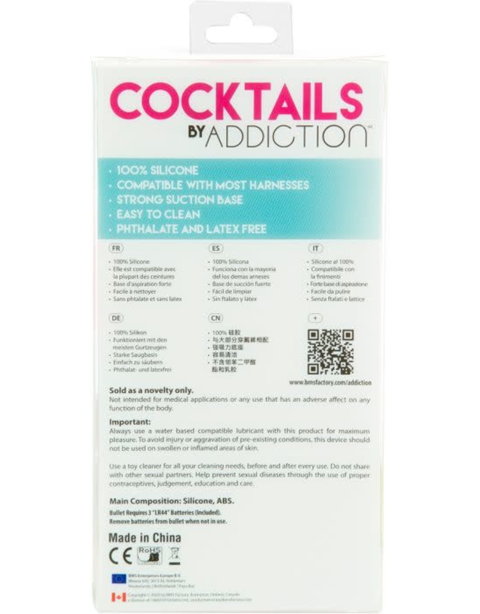 ADDICTION COCKTAILS BY ADDICTION - PURPLE COSMO