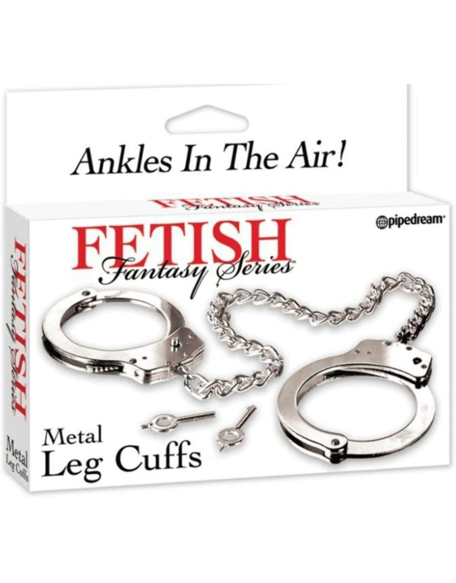 FETISH FANTASY - METAL LEG CUFFS