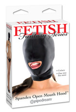 FETISH FANTASY - SPANDEX OPEN MOUTH HOOD