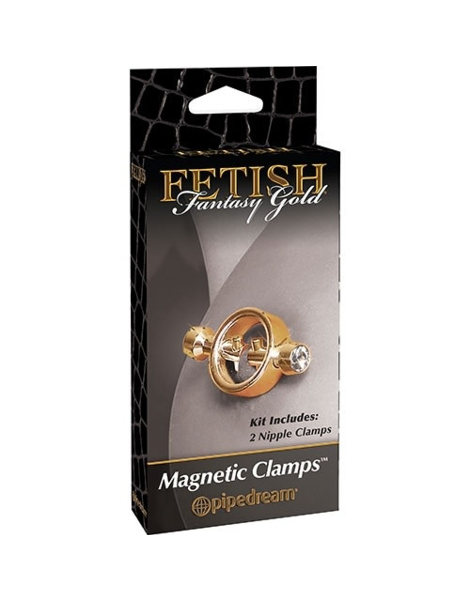 FETISH FANTASY FETISH FANTASY GOLD MAGNETIC CLAMPS