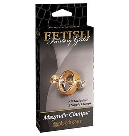 FETISH FANTASY FETISH FANTASY GOLD MAGNETIC CLAMPS