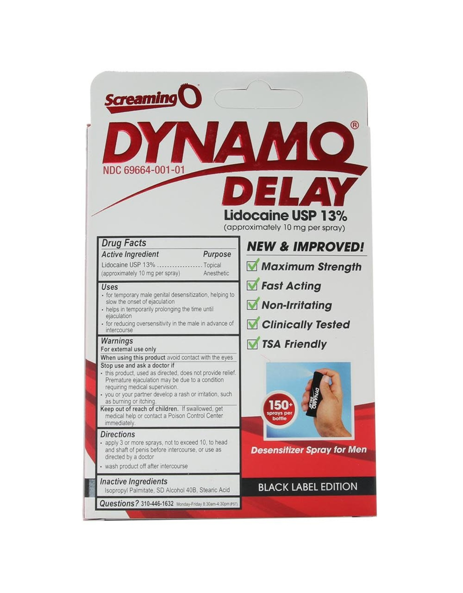 DYNAMO DELAY SPRAY .5oz/15ml