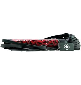 OUCH OUCH! - LUXURY WHIP FLOGGER - BORDEAUX
