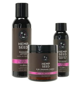 EARTHLY BODY EARTHLY BODIES - HEMP SEED MASSAGE IN A BOX - SKINNY DIP