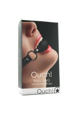 OUCH OUCH! - BREATHEABLE GAG BALL - BLACK