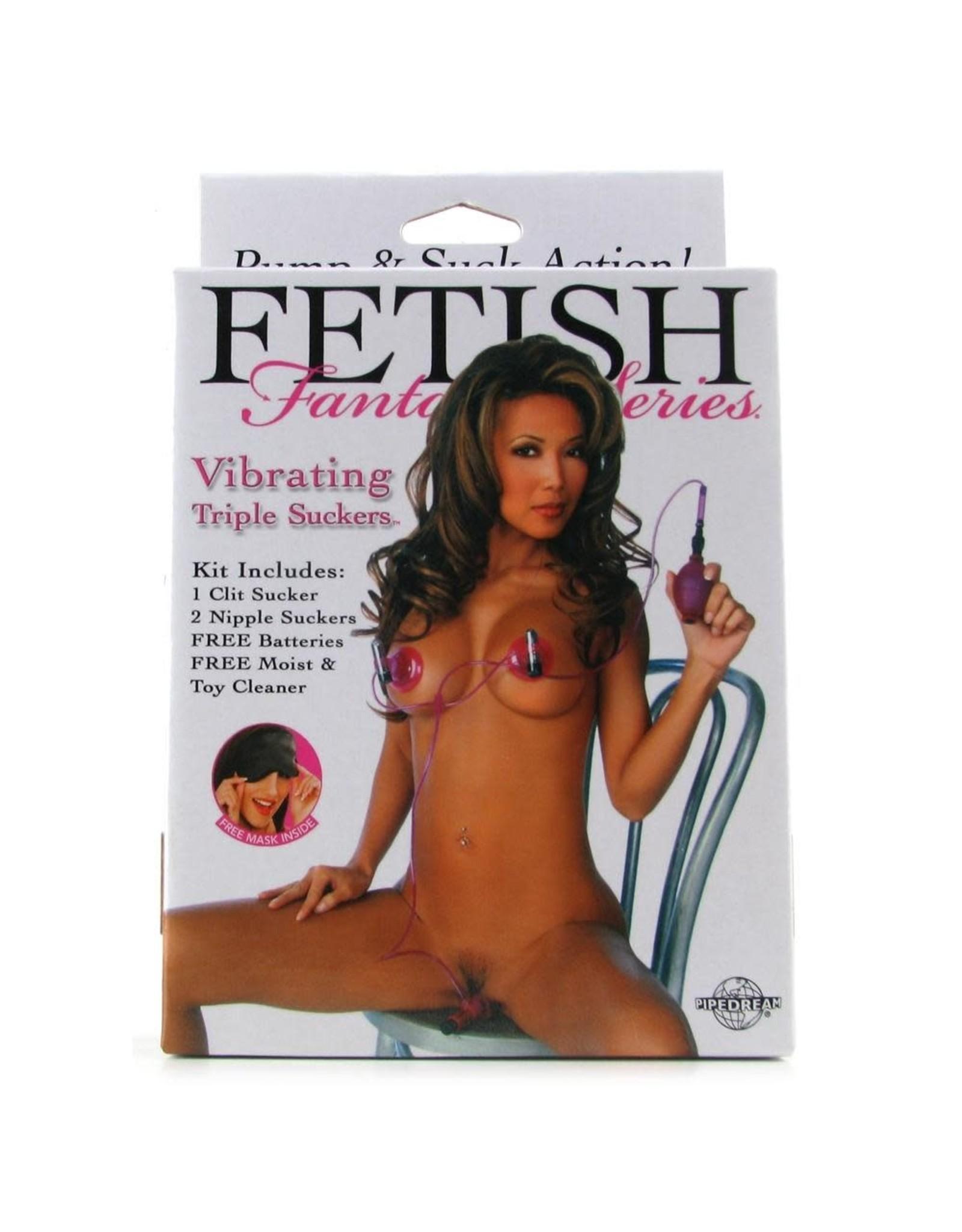 FETISH FANTASY FETISH FANTASY - VIBRATING TRIPLE SUCKERS