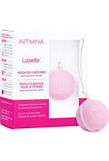 INTIMINA - LASELLE EXERCISER 28G - SMALL WEIGHTED BALL FOR BEGINNERS - PALE PINK