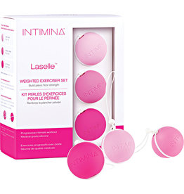 INTIMINA - LASELLE ROUTINE EXERCISE BALLS SET - WOMEN'S PELVIC FLOOR WEIGHTS