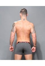 ANDREW CHRISTIAN ANDREW CHRISTIAN - ALMOST NAKED BAMBOO BOXER - CHARCOAL - MEDIUM