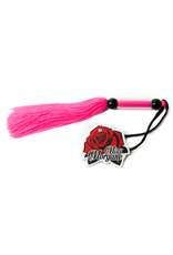"""MISS MORGANE MISS MORGANE - 10"""" RUBBER WHIP - PINK"""