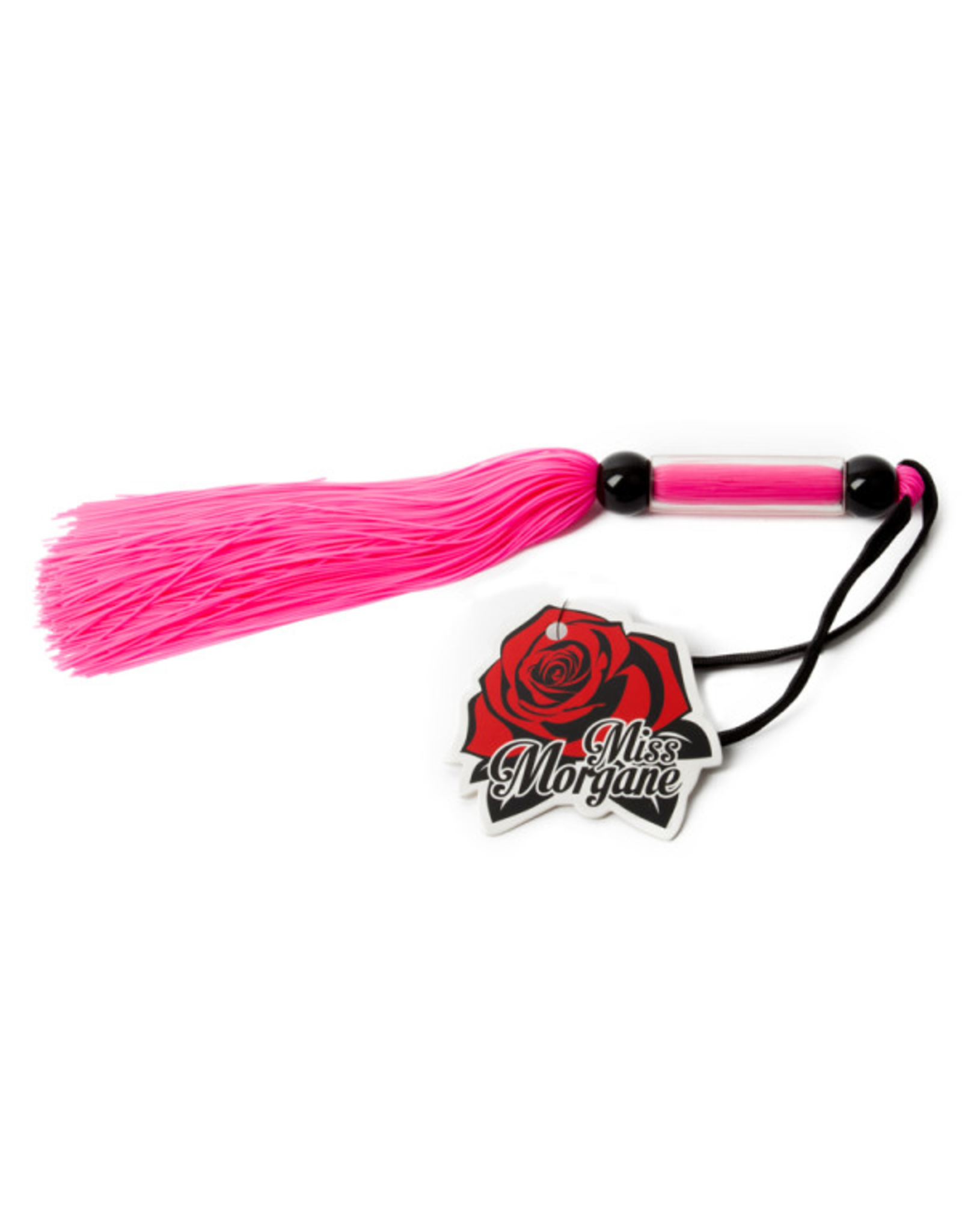 "MISS MORGANE - 10"" RUBBER WHIP - PINK"