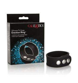 CALEXOTICS SILICONE TRI-SNAP ERECTION SNAP RING
