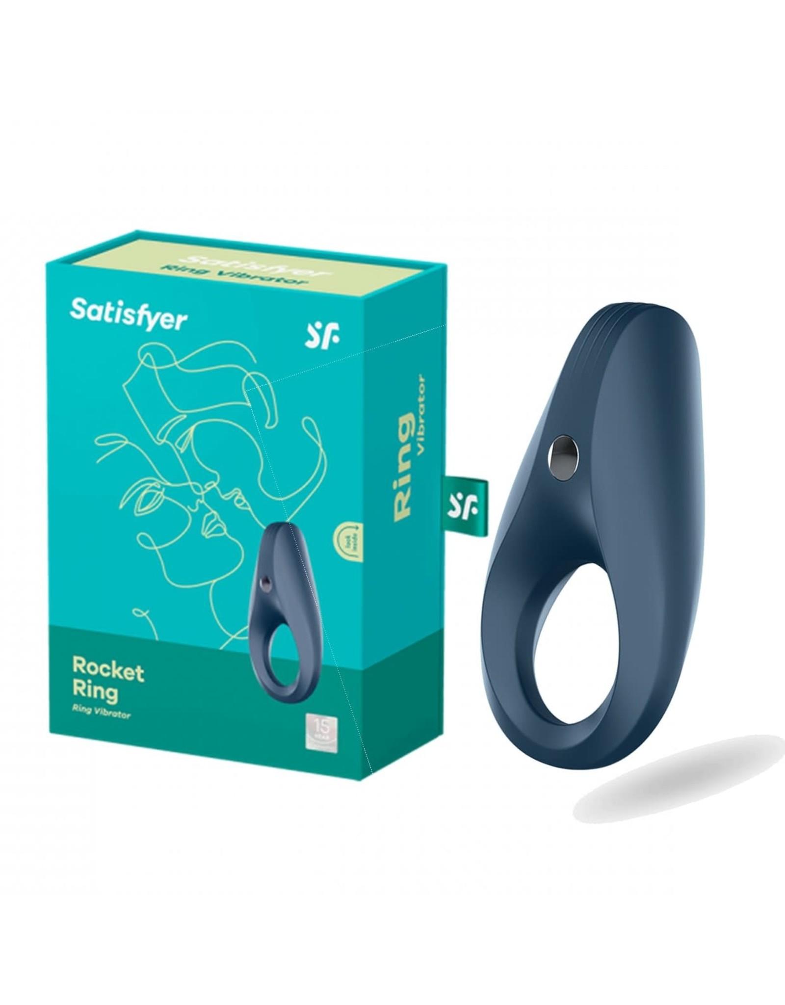 SATISFYER RINGS - ROCKET RING - BLUE