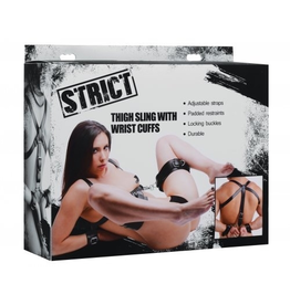 THIGH SLING WITH WRIST CUFFS