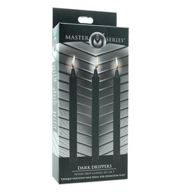 MASTER SERIES - DARK DRIPPERS - CANDLE SET OF 3