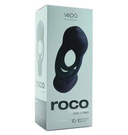 VEDO - ROCO DUAL COCK-RING - JUST BLACK