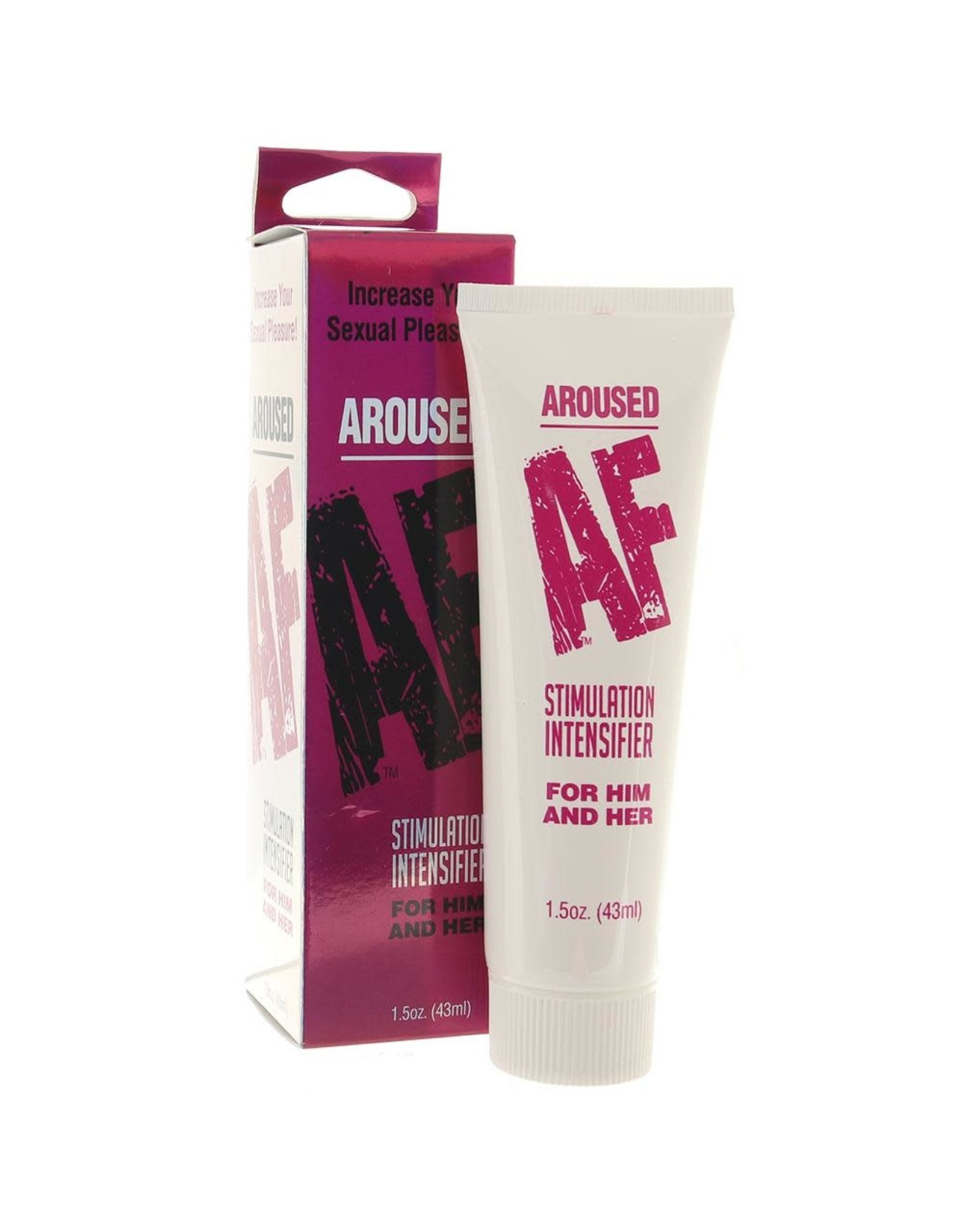 AROUSED AF - STIMULATION INTENSIFIER FOR HIM AND HER 1.5oz