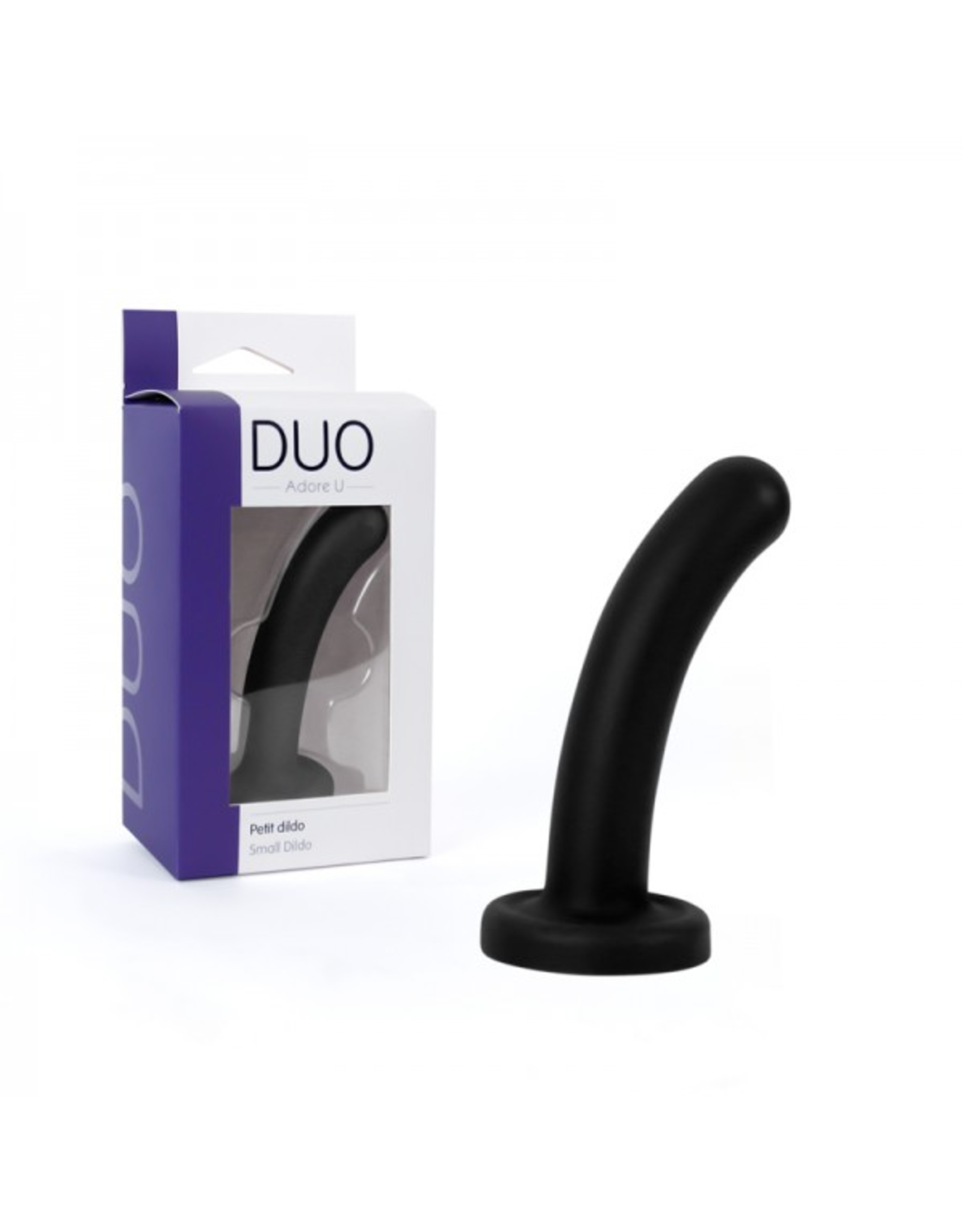 ADORE U - DUO - SMALL DILDO - BLACK