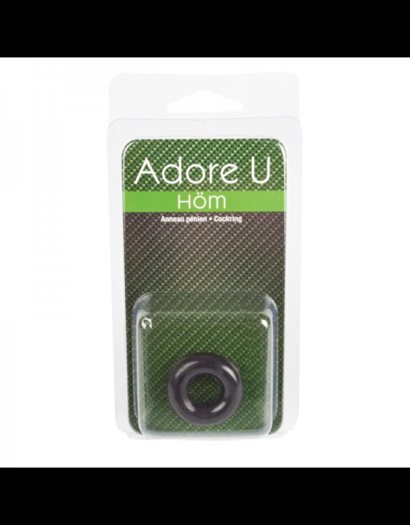 ADORE U HOM - SMALL C-RING - BLACK