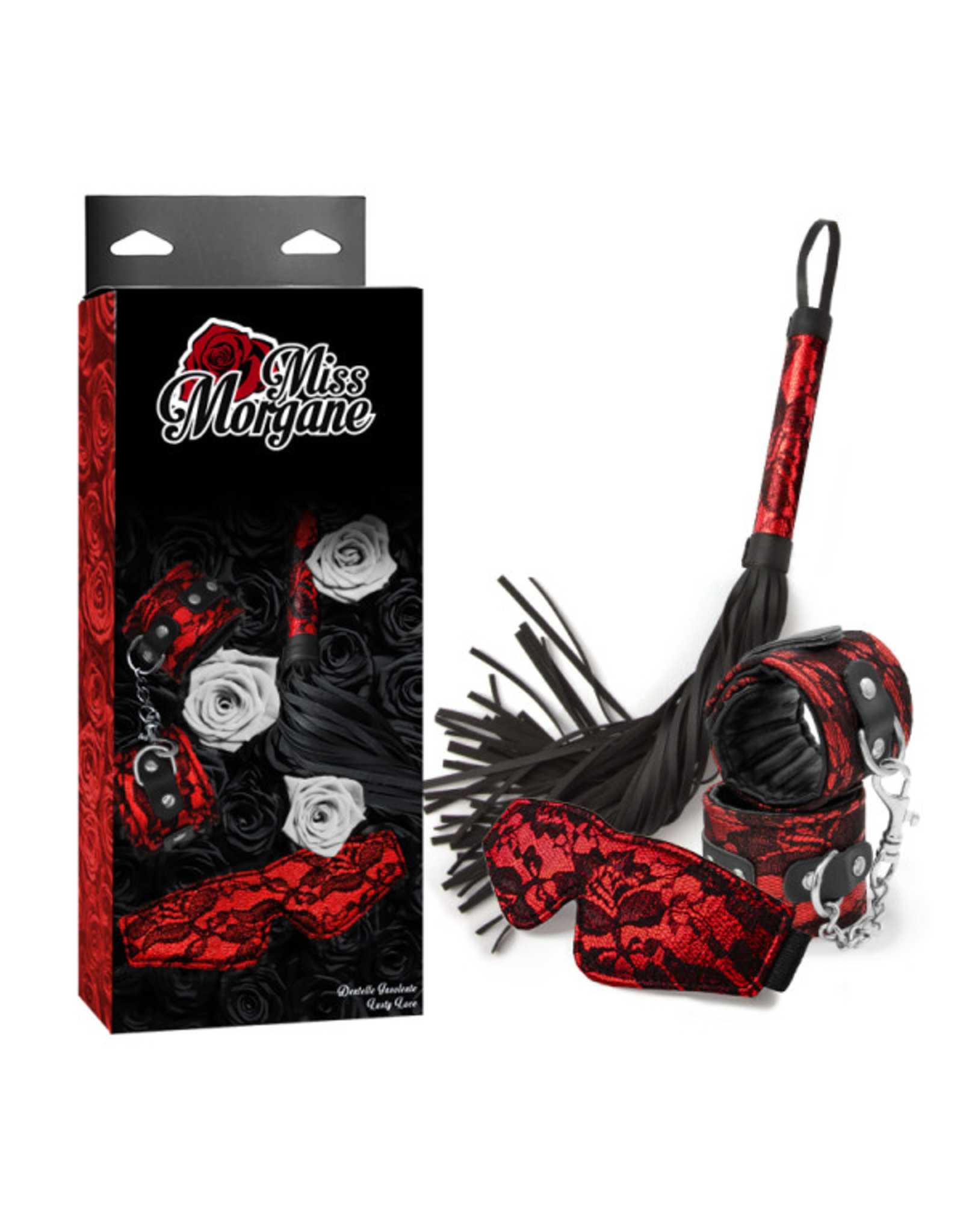 MISS MORGANE MISS MORGANE - LUSTY LACE - RED
