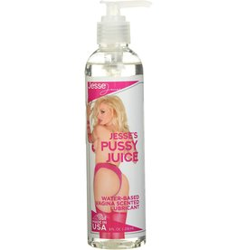 JESSE'S PUSSY JUICE WATER-BASED VAGINA SCENTED 8 OZ