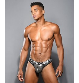 ANDREW CHRISTIAN ANDREW CHRISTIAN - GUNMETAL THONG W/ ALMOST NAKED - SMALL