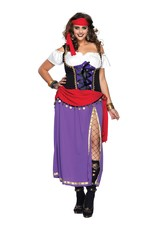 LEG AVENUE - TRAVELING GYPSY COSTUME -1X/2X