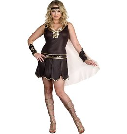 DREAMGIRL LINGERIE DREAMGIRL - BABE-A-LONIAN WARRIOR QUEEN COSTUME - 3X/4X