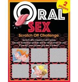 SEXY SCRATCHER - ORAL SEX CHALLENGE