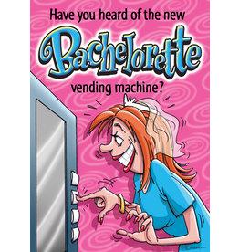 OZZE NEW BACHELORETTE VENDING MACHINE - GREETING CARD