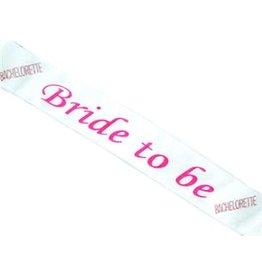 BRIDE-TO-BE SASH