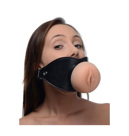 XR BRANDS XR BRANDS - MASTER SERIES PUSSY FACE ORAL SEX MOUTH GAG
