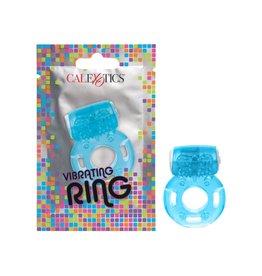 CALEXOTICS FOIL PACK VIBRATING RING - BLUE
