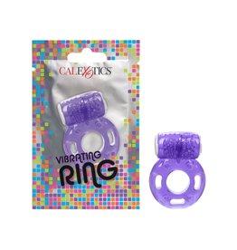 CALEXOTICS FOIL PACK VIBRATING RING - PURPLE
