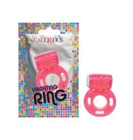 CALEXOTICS FOIL PACK VIBRATING RING - PINK