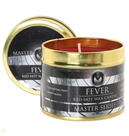 MASTER SERIES MASTER SERIES - FEVER - HOT WAX CANDLE - RED