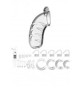 """MANCAGE MODEL 04 - CHASTITY - 4.5"""" - COCK CAGE - TRANSPARENT"""